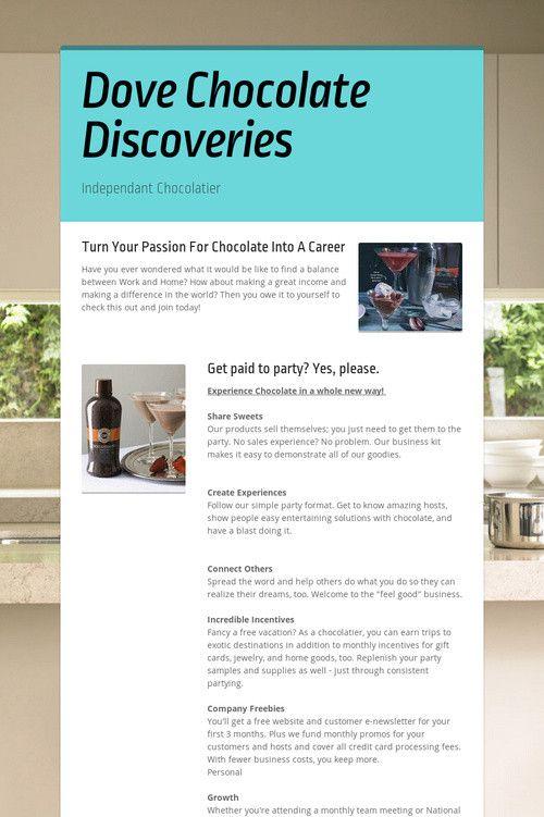Dove Chocolate Discoveries Www Becomeachocolatier Com Chocolate