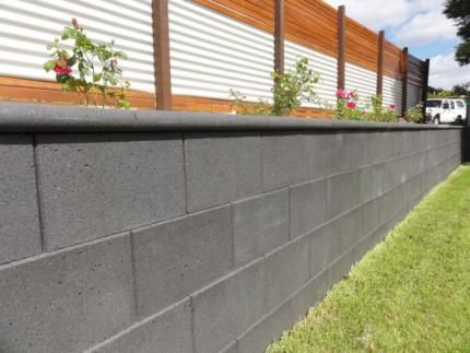 Cinder Block Wall Finishes Google Search Retaining