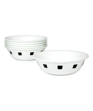Another great find on #zulily! Urban Black Livingware Soup Bowl Set - Set of Six #zulilyfinds