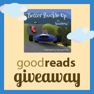 Giveaway of Autographed copy of Better Buckle Up on Goodreads. http://geni.us/BBUgiveaway1 Ends 21st June