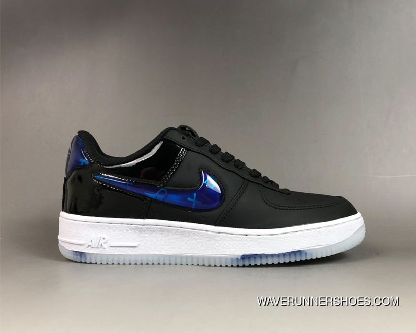 512f179033e5 Women Men Copuon Sony Playstation X Nike Air Force One Low 2018  Black Cobalt Blaze