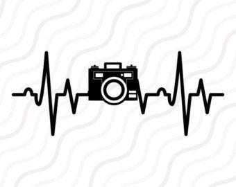 Heartbeat Line Art : Heartbeat svg etsy files cricut camera and