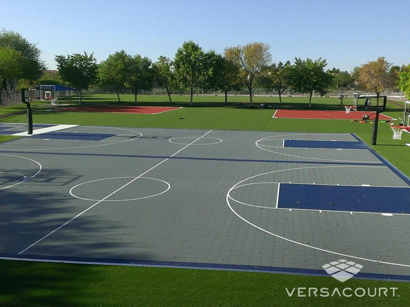 Full Court Basketball Courts For School Playground These Form Part Of Ud In Physical Sp Outdoor Basketball Court