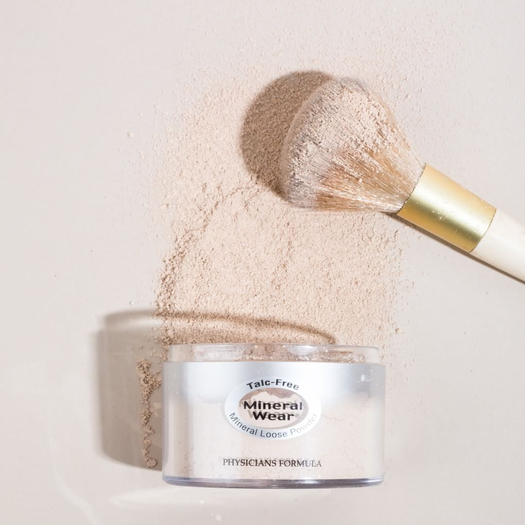 A long time favorite physicians formula mineral wear talc