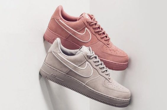 Nike Air Force 1 Low Suede (Salmon