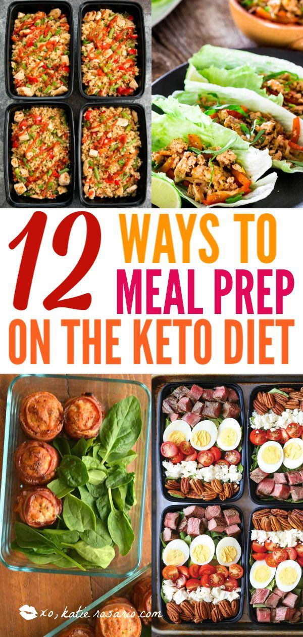 12 Keto Meal Prep Recipes For Your Busy Week - XO, Katie Rosario #mealprepplans