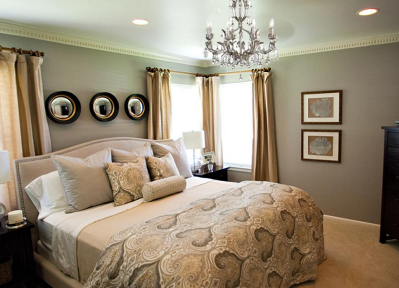 Paint color - Ashes by Behr like the gree/gray walls with the gold ...