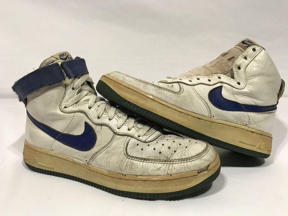 quality design 5b79c 1ba6a VTG OG 1983 Nike Air Force 1 PLAYER SAMPLES Size 11.5 Korea Original Rare  AF1 82 Nike AthleticSneakers