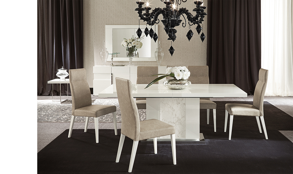 Room Canova Dining Table And Chair By ALF Classic FurnitureRooms