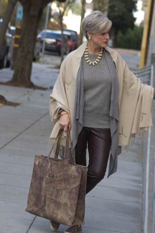 Chic Style For Lady Plus 50 Style At A Certain Age