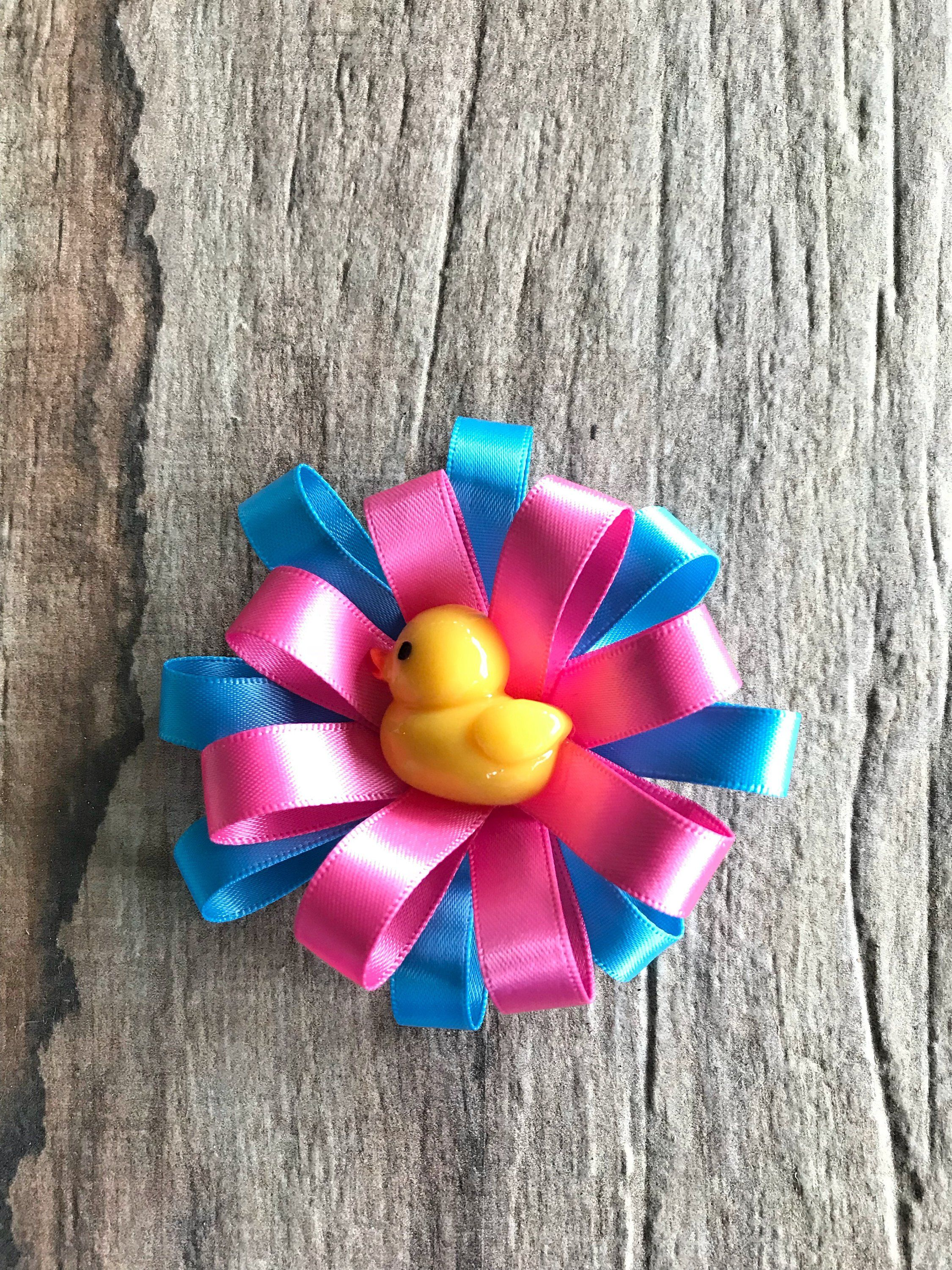 Handmade 4 Inch Hair Clip Bow Lilac Girls' Accessories Kids' Clothes, Shoes & Accs.