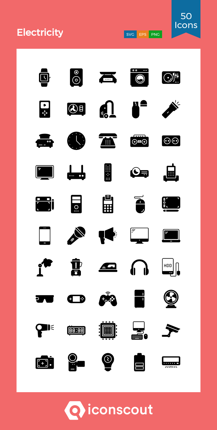 Download Electricity Icon Pack Available In Svg Png Eps Ai Icon Fonts Icon Pack Glyph Icon Icon