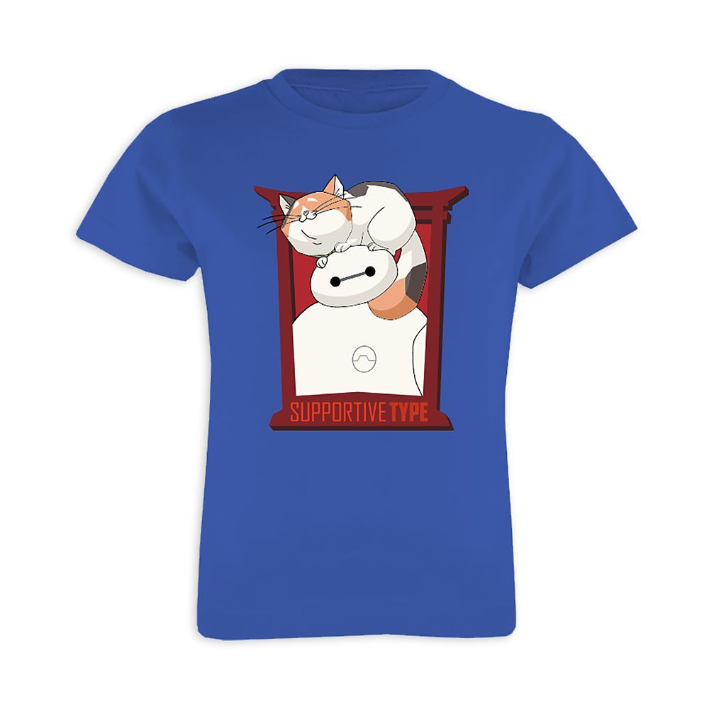 UFFICIALE Big Hero 6 GIRL/'S T-shirt