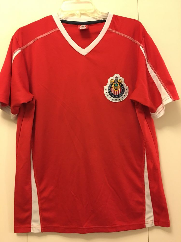 7c5fe39ae467 Club Deportivo Guadalajara Chivas Training Jersey Size Medium M  Unbranded   ShirtsTops