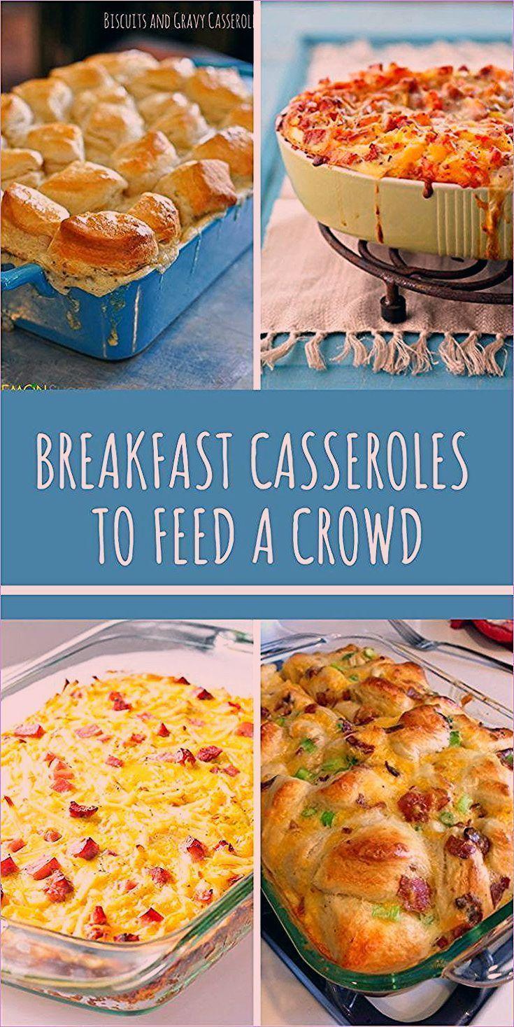 Frühstücksaufläufe, um eine Menge zu füttern   Machen Sie voraus Camping Mahlzeiten für eine Menschenmenge   …