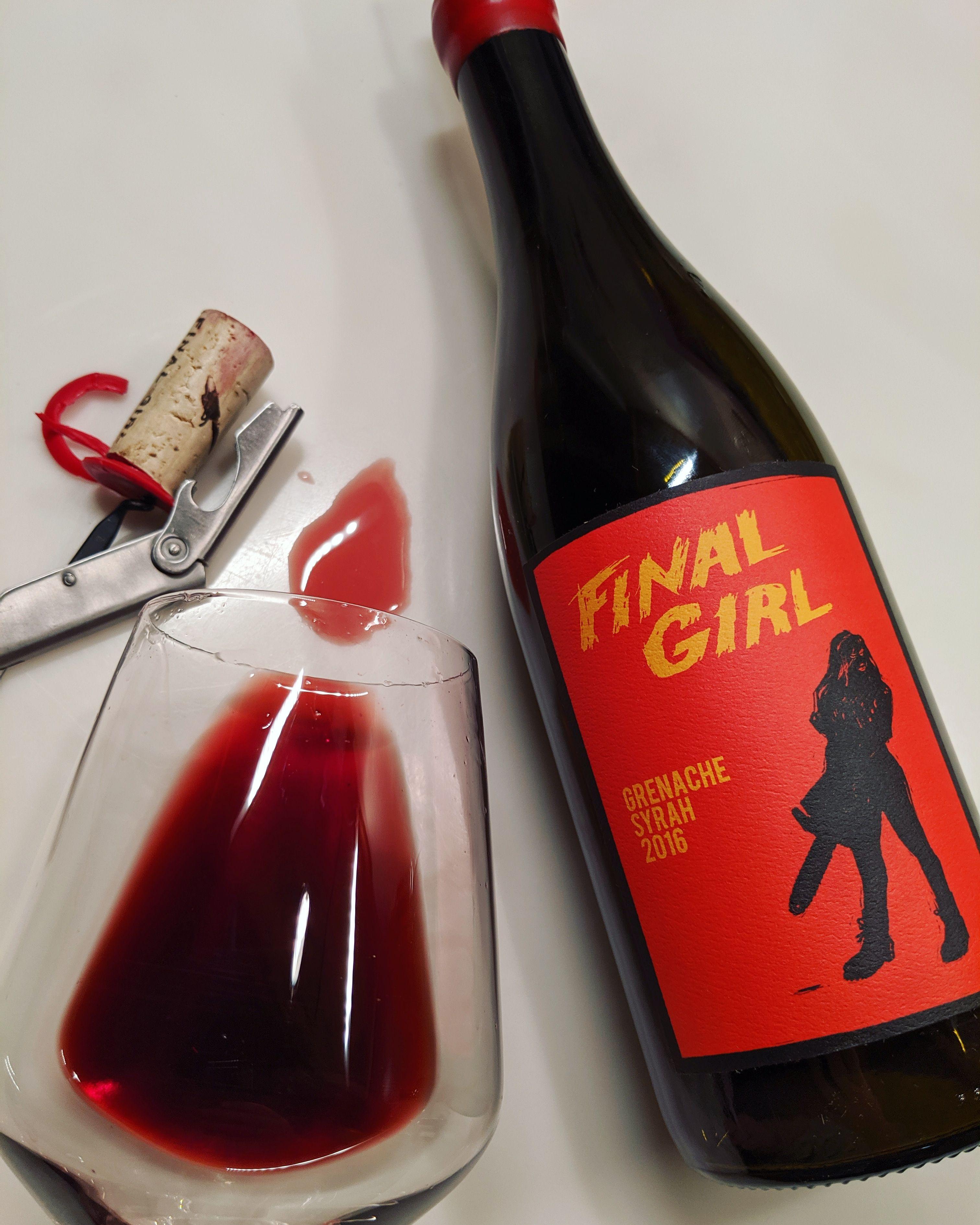 Finality Cherry Liqueur Grenache Wine Bottle