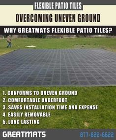 Learn How To Create An Quality And Inexpensive Patio Over Uneven Surfaces