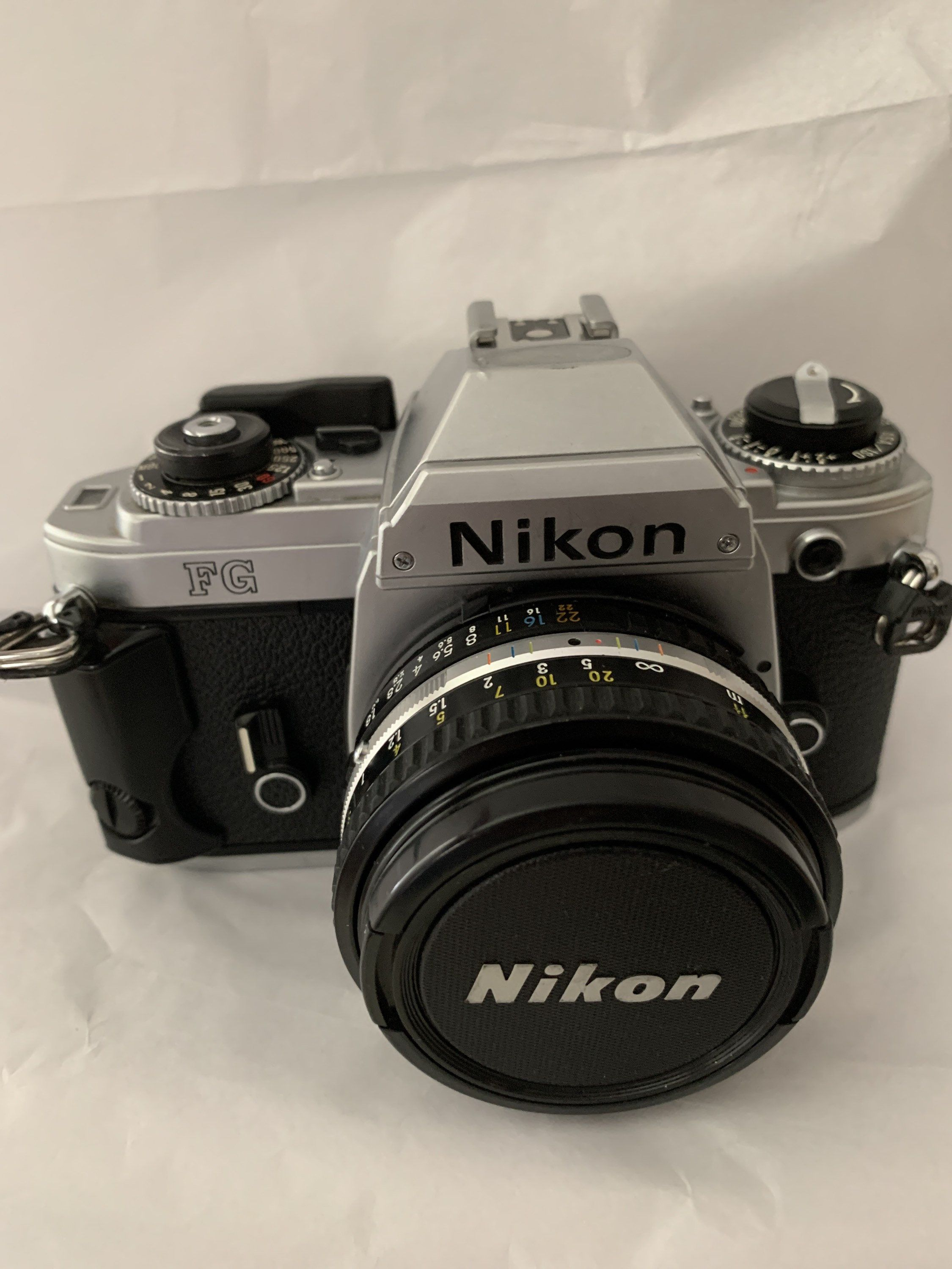 Excited to share this item from my #etsy shop: Nikon FG Film Camera with Nikon 50mm f/1.8 Lens