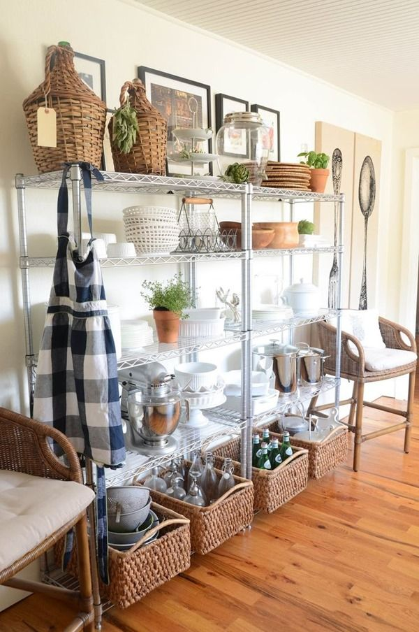 Extra Organizing When Your Pantry Is Too Small Home  Pinterest Fascinating Cheap Interior Design Ideas Living Room Review
