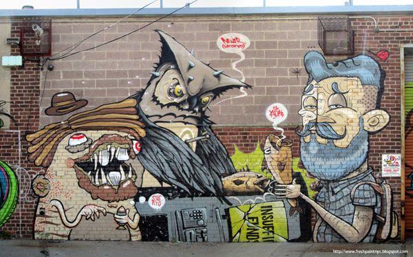Os Lindos Murais De Yok Com Imagens Graffiti De Rua Producao De Arte Grafite De Rua
