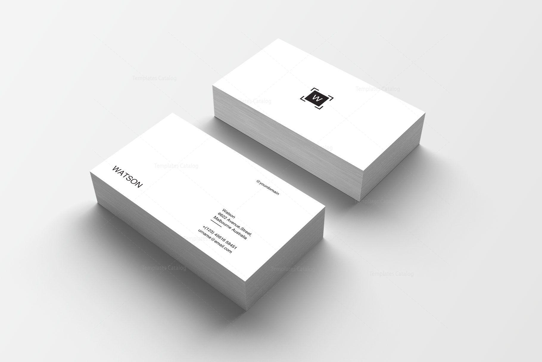 Plain Print Business Card Template Graphic Templates Printing Business Cards Business Card Template Photography Business Cards Template
