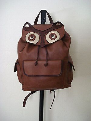 Brand new  accessorize #large faux leather owl #shaped #backpack rucksack ,  View more on the LINK: http://www.zeppy.io/product/gb/2/322318237594/