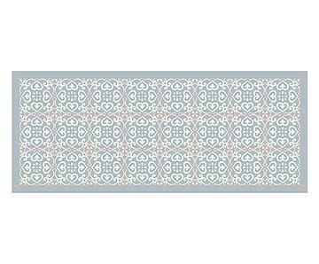 Alfombra Vin Lica Guadalupe 160x66 Cm Mosaicos Y