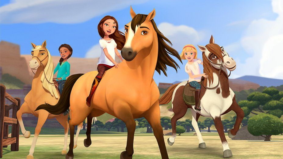Pin On Dreamworks Spirit Riding Free Sponsored