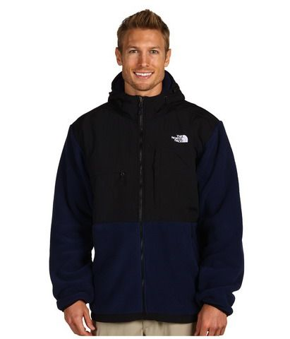 3b900d787ad Mens The North Face Fleece Denali Hoodie Black Blue | help.me ...