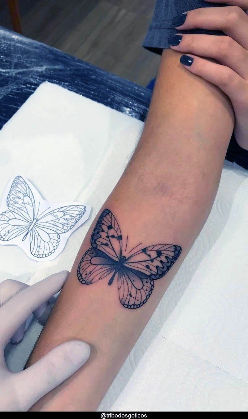 Tattoo Ideas Female Butterfly Beautiful In 2020 Elbow Tattoos Tattoos Dainty Tattoos