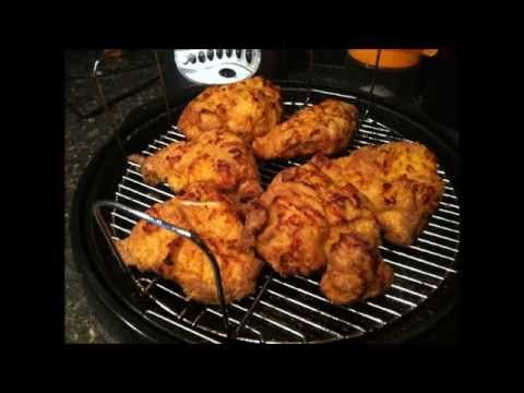 Nuwave Oven Air Fried Chicken With No Flour Cloud Heart Healthy No Oils Youtube Nuwave