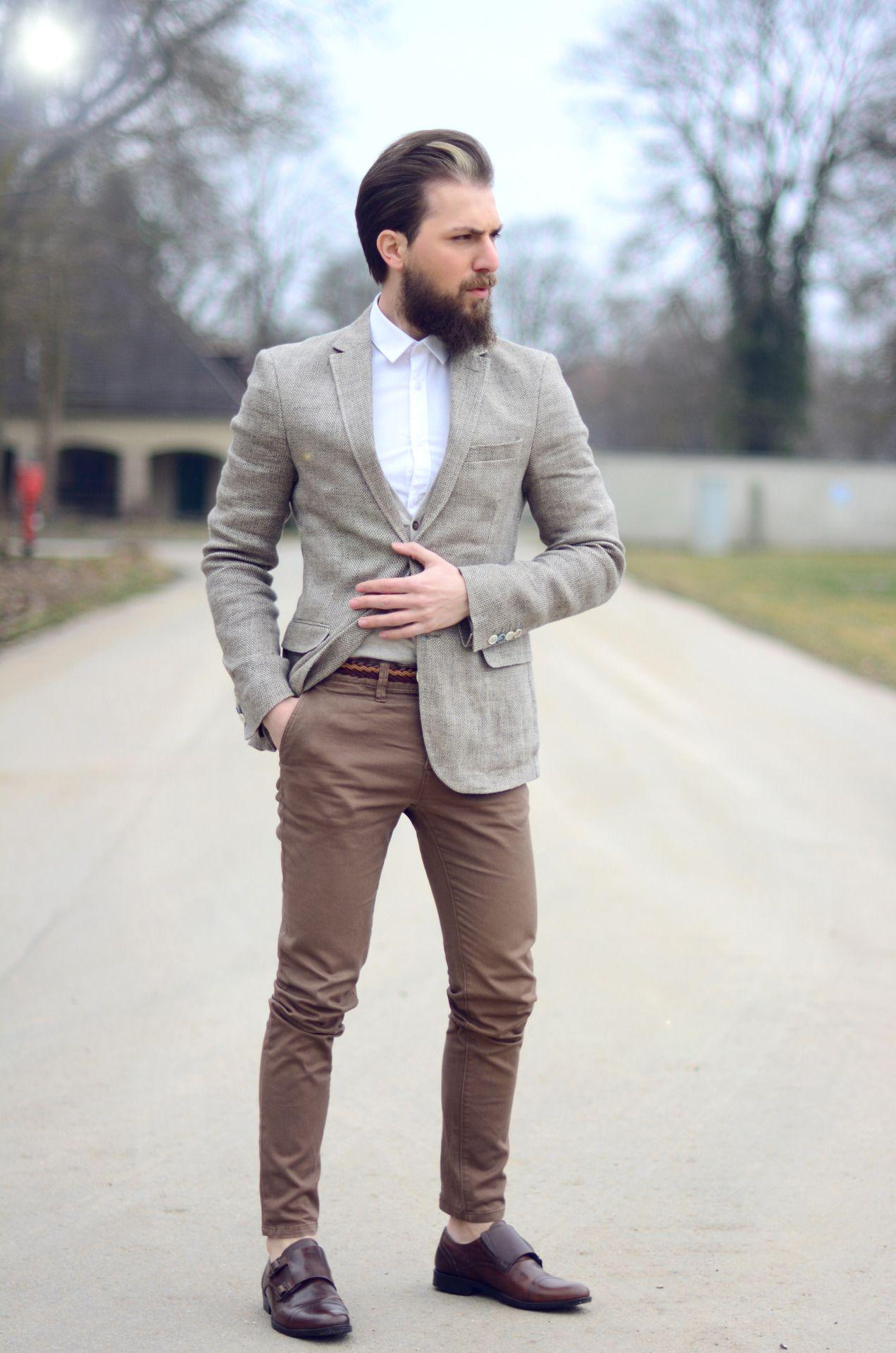 Fotos de hombres vestidos de elegante sport
