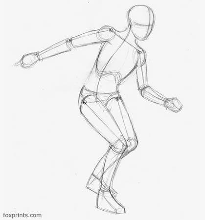 Running Figure Drawing Poses Figure Drawing Human Figure Drawing