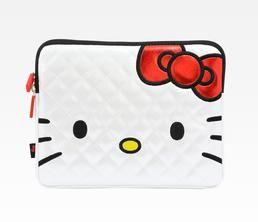 Hello Kitty iPad Case: Face