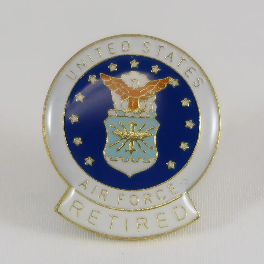 United states air force retired lapel pin in 2020 Air