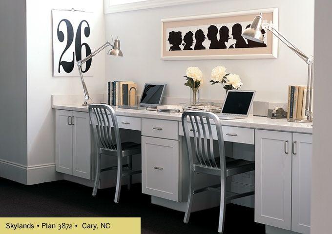 Double Desk Home Office | Martha Stewart KB Home Office | Offices |  Pinterest Furniture #