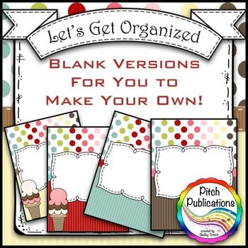 Let's Get Organized - SWEET SHOPPE - Music Binder Covers! Amazing ...