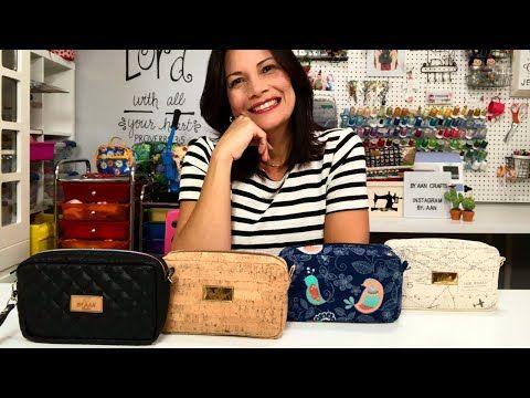 Bolsa de bricolaje con fuelle – Comprender el modelado de una bolsa | Aline Nunes