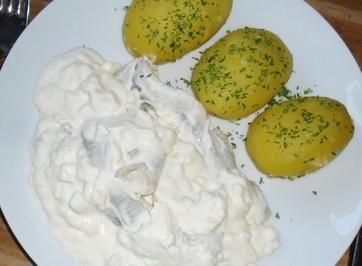 Sahneheringe #easyshrimprecipes