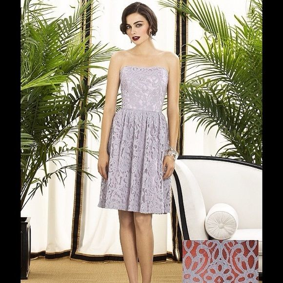 9f0dea77d8a Strapless lace dress Bought as sample display from boutique