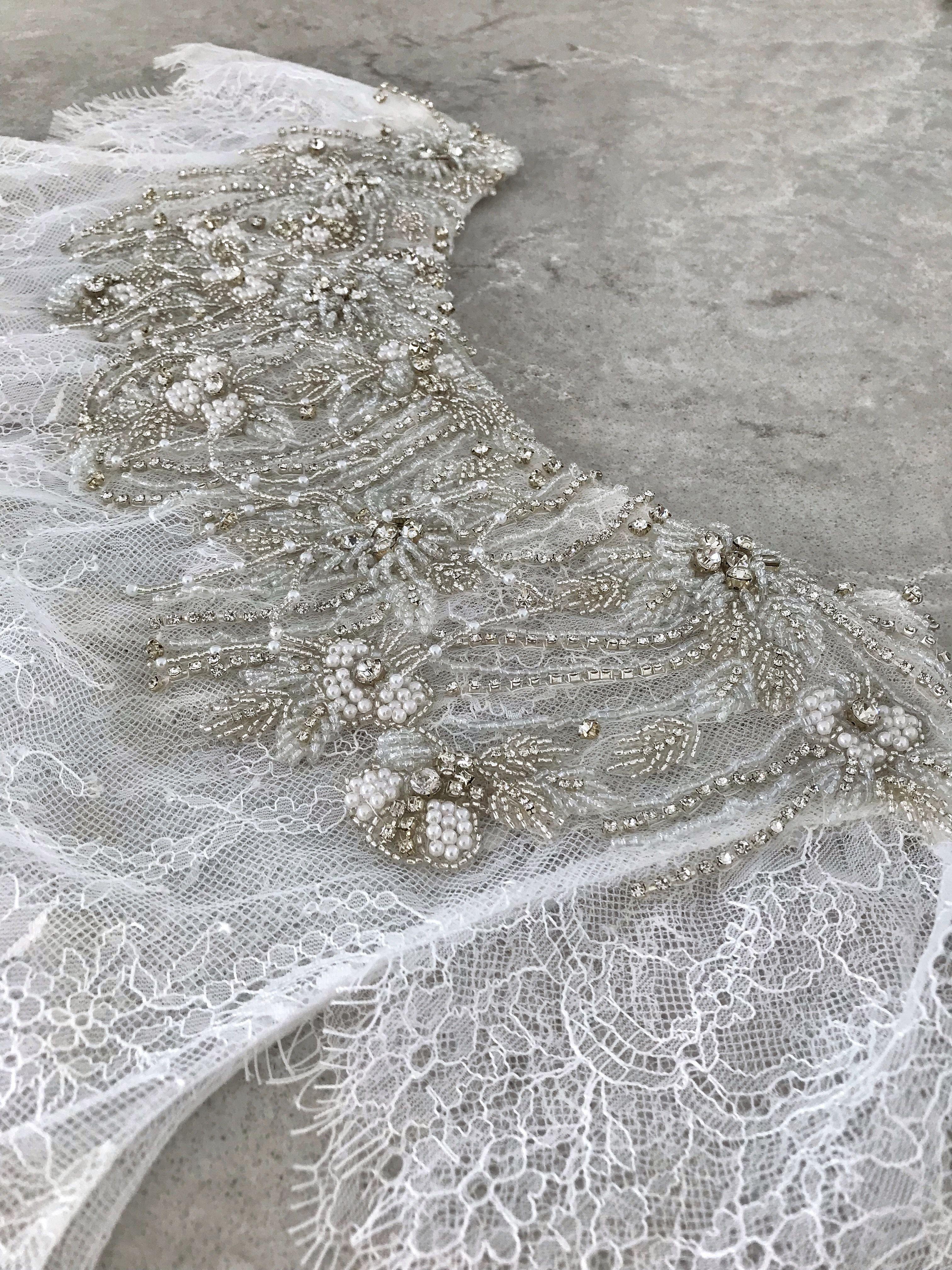 Bolero bridal top lace topper bridal cover up lace bolero jacket