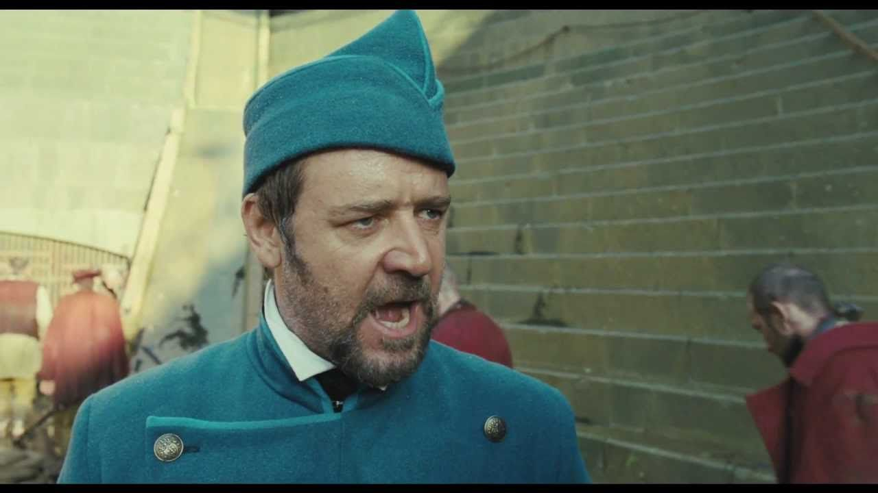 Les Misérables - Clip - So, can Russell Crowe sing or not? I can't make up my mind...