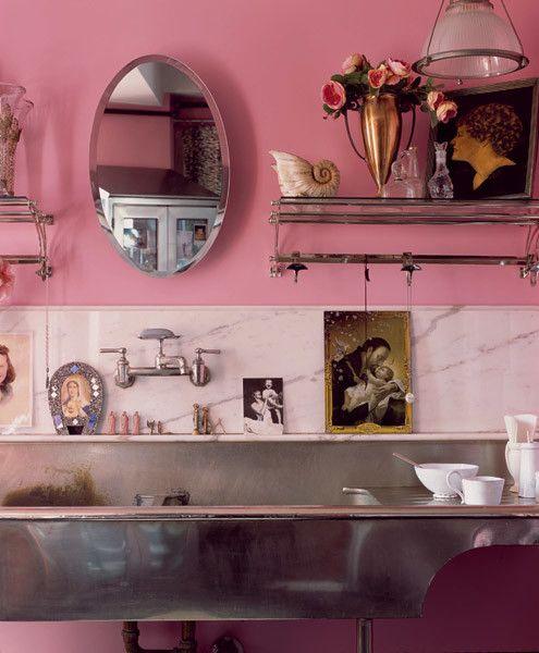 Decorar con gris y rosa: una combinación de color muy ...