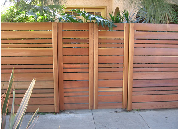 horizontal privacy fence panels google search diy
