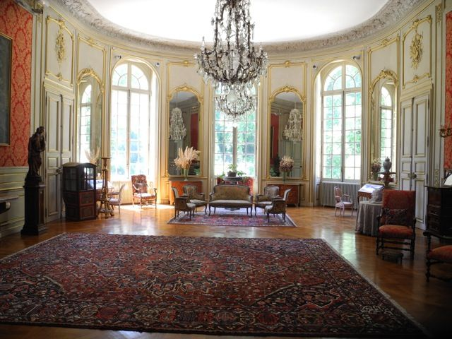 Une partie de l 39 interieur du ch teau beautiful rooms for Interieur french