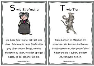 abc kurzgeschichten und m rchenfiguren lernen leicht gemacht m rchenfiguren deutsch. Black Bedroom Furniture Sets. Home Design Ideas