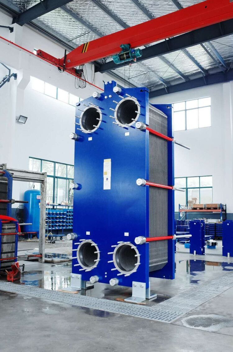 Pin On Plate And Frame Heat Exchanger