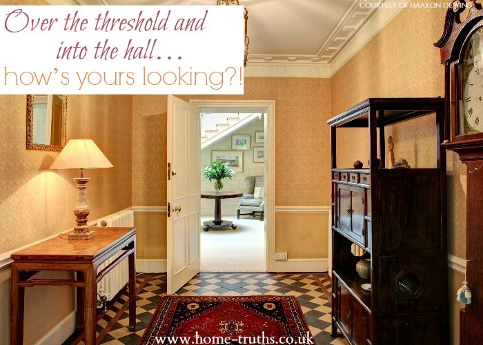 Over the threshold and into the hall…how's yours looking?!  1 in 3 people decide that they want a house on their very first viewing. Ensure your hallway looks at its best! Click to read.   #sellinghouses #sellingsecrets