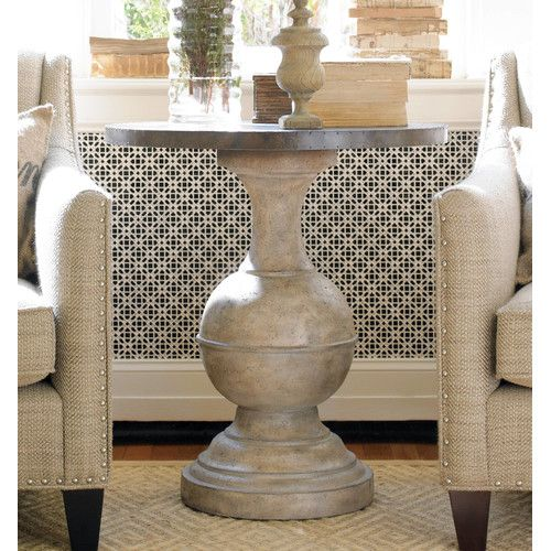 Furniture Round Accent Table To Create Its Modern Organic Masterpiece The Pairs A Rustic Br Top With