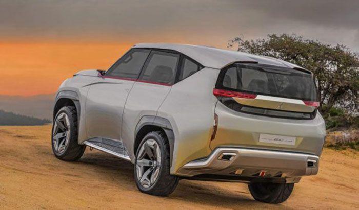 2018 Mitsubishi Pajero New Concept Release Date Automotrends